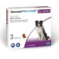 Фронтлайн НексгарД Жевательная таблетка для собак 10-25 кг 1 таб.