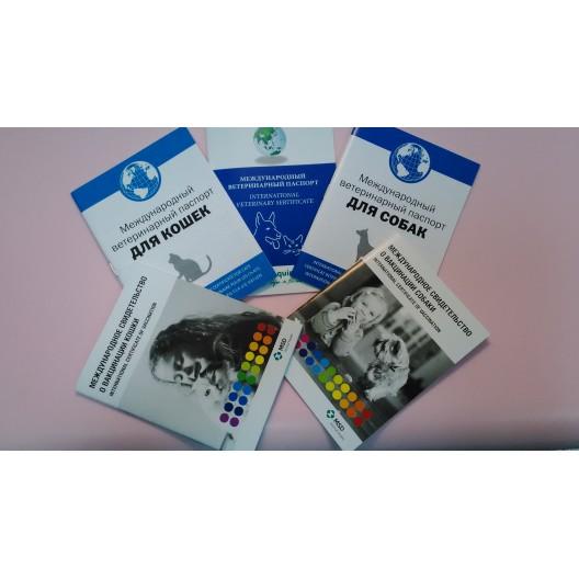 Купить Международный ветеринарный паспорт для животных