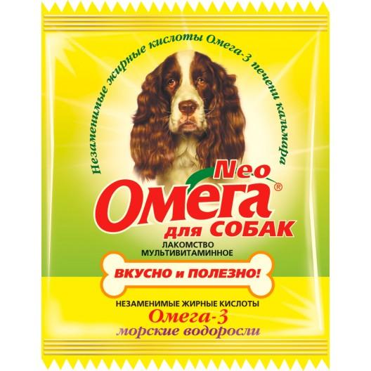 Купить Омега NEO для собак морские водоросли таб.№90
