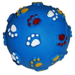 """Мяч резиновый """"Лапки"""" 5,5 см"""