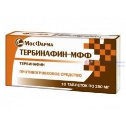 Тербинафин 250 мг. № 10, 10 табл.