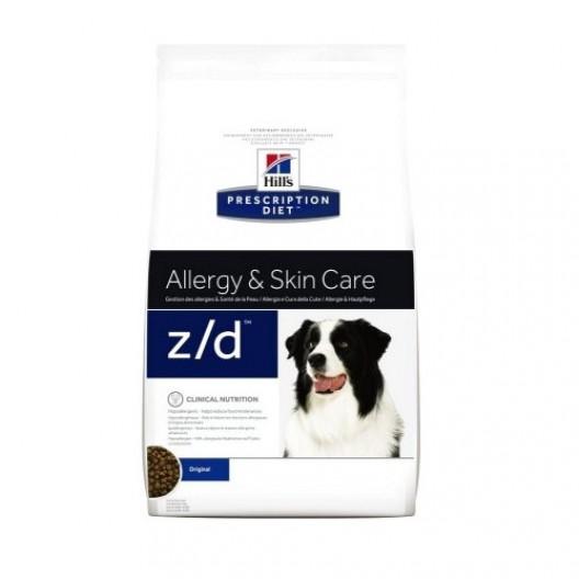 Купить Хиллс PD z d Ultra корм для собак 3 кг