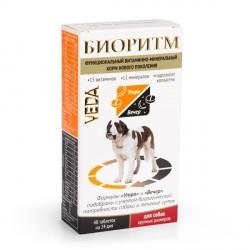 Биоритм для собак крупных пород 48 таб.