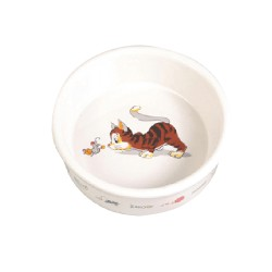 Миска керамическая для кошек 200 мл/11 см.