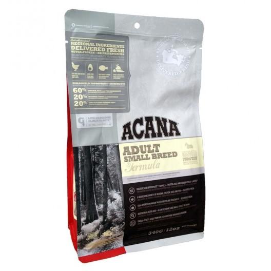 Купить Акана Херидейдж Эдалт Смол Брид - сухой беззерновой корм для собак мелких пород 340 гр