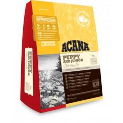 Акана Херидейдж Паппи & Джуниор  сухой беззерновой корм для щенков 340 гр