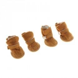Ботинки Элеганс, размер 4, 4 шт., коричневые