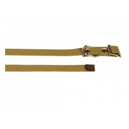 Купить Ошейник брезентовый 25 мм, 15-50 см
