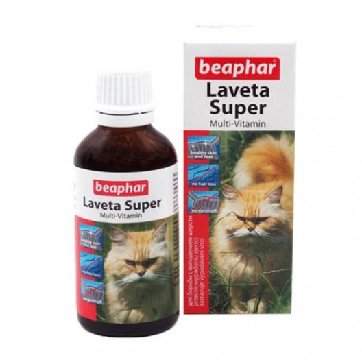 Купить Laveta super витамины для кошек для шерсти 50 мл