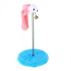 Дразнилка для кошек на пружине с мышью (5 см), 10,5*23 см