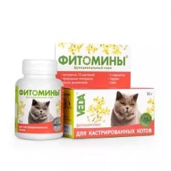 Фитомины для кастрированных котов 50 гр