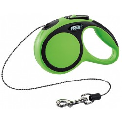 Рулетка  Flexi New Comfort XS 3 м, 8кг трос, зеленый