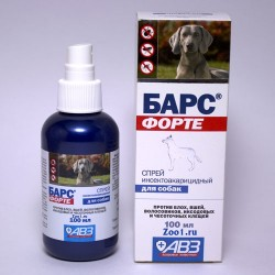 Спрей Барс - Форте для собак 100 мл