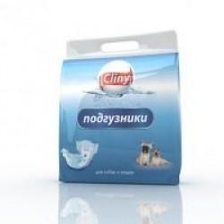 Подгузники для собак и кошек Cliny К201  XS 2-4кг 11шт
