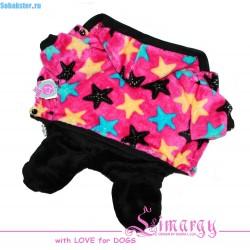 Комбинезон Color Stars розовый/черный, сука S