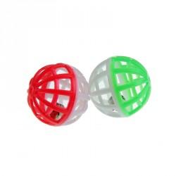 Набор из 2 шариков-погремушек, 4 см