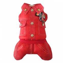 Комбинезон зимний ARMY, красный S