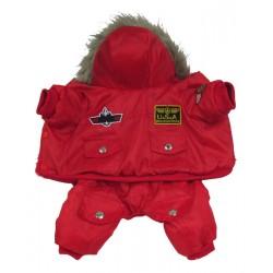 Комбинезон зимний ARMY, красный XL