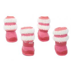 "Ботинки ""Унты"" 4 шт. размер 5  подошва 7*5,5 см"