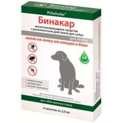 Бинакар капли на холку для собак средних пород