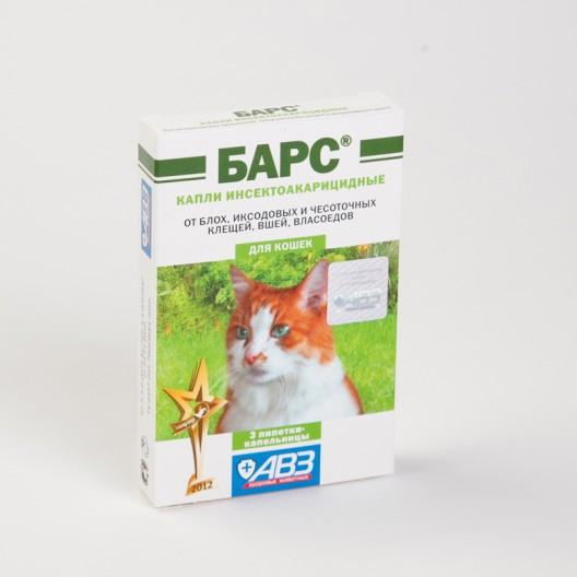 Купить Барс капли от блох, клещей, власоедов для кошек №3