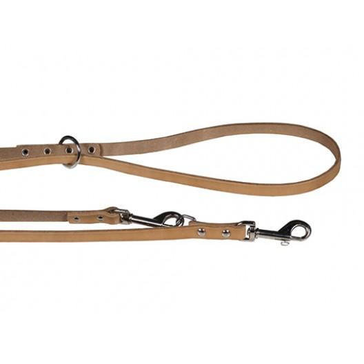 Купить Поводок кожаный переменной длины