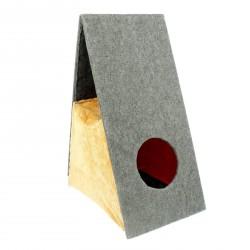 Дом-когтеточка раскладной, 51х35,5х73см.