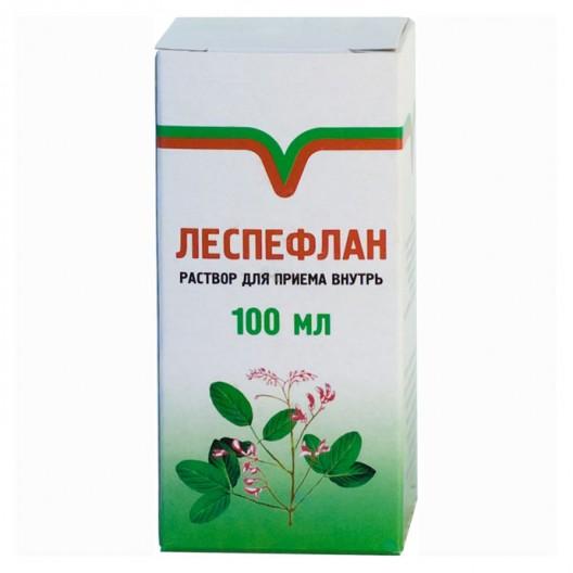 Купить Леспефлан (раствор для приема внутрь при почечной недостаточности) 100мл.
