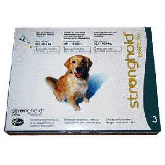 Купить Стронгхолд 240мг для собак 20-40кг.уп.3пип*2мл
