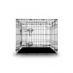 Клетка для животных с 2 дверцами, эмаль, 755*475*550мм.