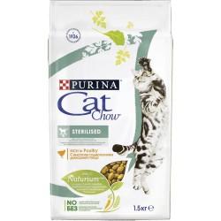 Кэт Чау 1,5 кг Сухой корм для кастрированный и стерилизованных кошек