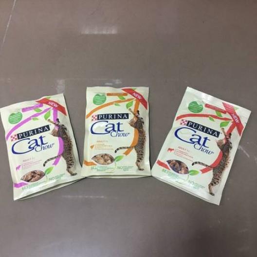 Купить Кэт Чау консервированный для кошек (говядина, баклажан) 85гр.