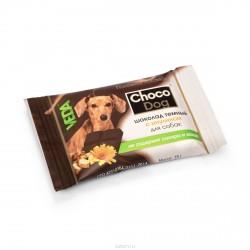 Шоколад темный с инулином для собак Choco Dog 15 гр
