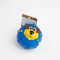 Мячик с мордочкой резиновый 7см