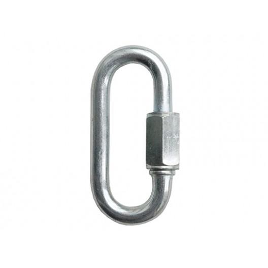 Купить Карабин монтажный №10 (кольцо) с замком d 10/100мм