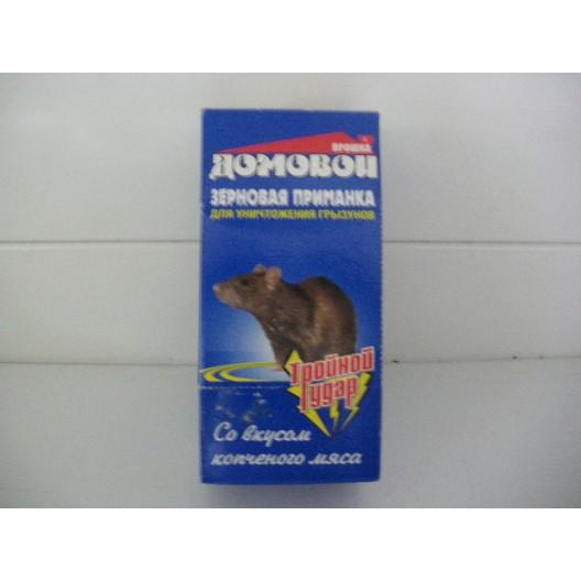 Купить Домовой  зерновая приманка от крыс и мышей