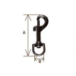 Карабин I А=54мм, В=12 мм