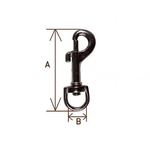 Купить Карабин I А=54мм, В=12 мм