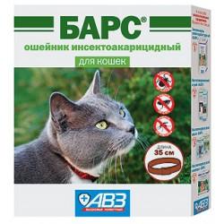 Барс ошейник от блох и клещей для кошек