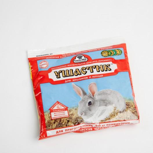"""Купить Витаминно-минеральная добавка """"Ушастик"""" для кроликов и нутрий, уп. 150 г"""