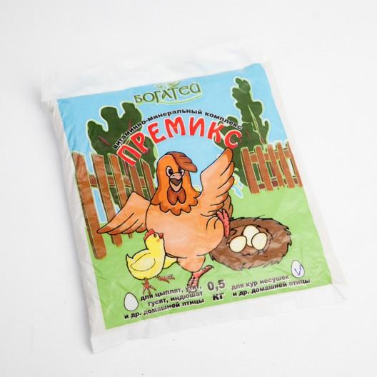 Купить Витаминно-минеральная добавка для кур несушек и другой домашней птицы, 500 гр.