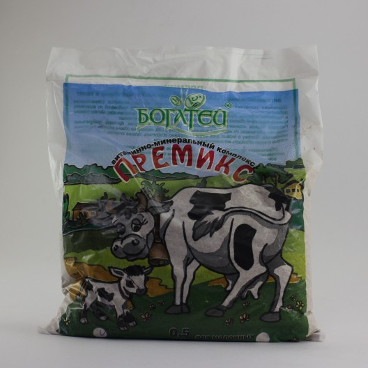 Купить Витаминно-минеральная добавка для молочных телят, 500 гр.