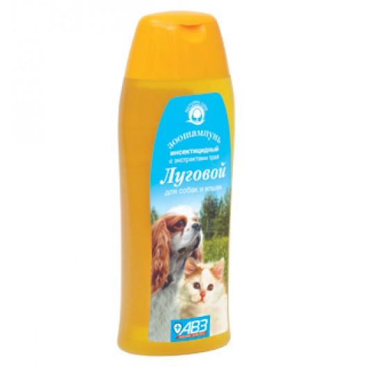 """Купить Шампунь инсектицидный """"Луговой""""для собак и кошек, фл. 270 мл"""