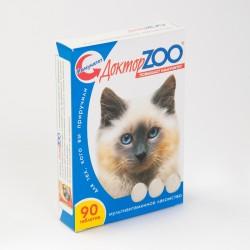 Доктор Zoo д/кошек Мультивитаминное лакомство, повышает иммунитет