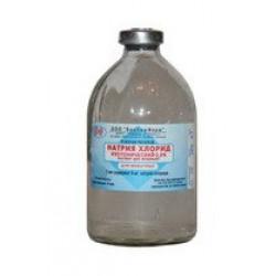 Натрия хлорида раствор изотонический .0.9%