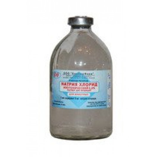 Купить Натрия хлорида раствор изотонический .0.9%