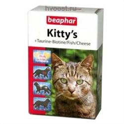 Киттис- витаминизированное лакомство д/кошек 180 таб.