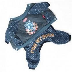 Комбинезон утепленный со съемными штанишками