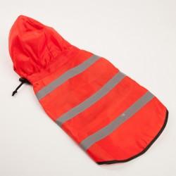 Дождевик с капюшоном, со светоотражающими полосками