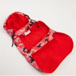 Дождевик с капюшоном на флисовой подкладке